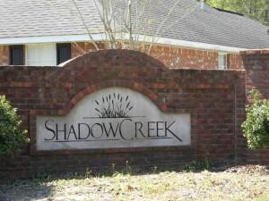Shadow Creek Sign