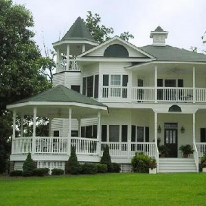 Historical style home Woolmarket Mississippi